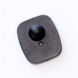 Датчик радиочастотный стандартный 40х50 мм черный, противокражный антикражный датчик жесткийРЧ RF Mini Square ABS