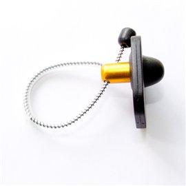 Датчик бутылочный, Радиочастотный противокражный антикражныйRF Mini Square Bottle Tag42х48 мм черный