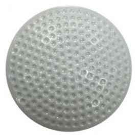 Акустомагнитныйпротивокражный антикражный датчик ракушка макси AM Designer Golf 63 мм, белый