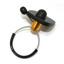 Акустомагнитныйпротивокражный антикражный датчик для защиты бутылок Mini Bottle Tag (58 кГц, размеры 36 х 30 мм)